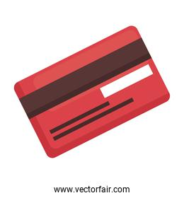 credit card isolated vector design