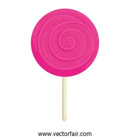 Sweet pink candy vector design