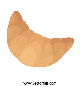croissant bread icon vector design