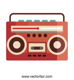 old retro radio device icon