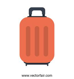 travel suitcase icon, colorful