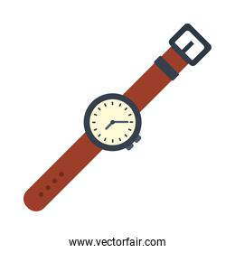 casual wristwatch icon, colorful design