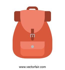 travel backpack icon, colorful design