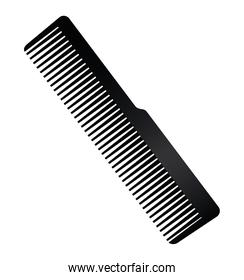 comb hairdressing tool equipment icon