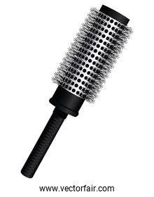 comb brush hairdressing tool equipment icon