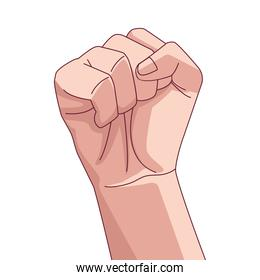 hand human fist fighter icon