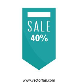 sale offer discount promo marketing over white background