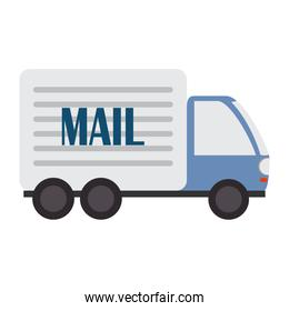 postal service, mail truck transport courier delivery related