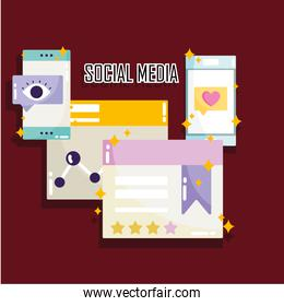 social media website share content information digital technology