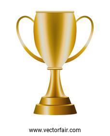 trophy cup golden award icon