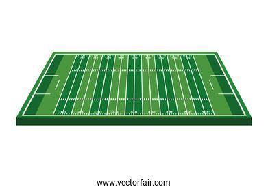 american football camp with yards airview icon