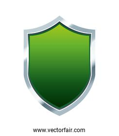 shield guard green protection icon