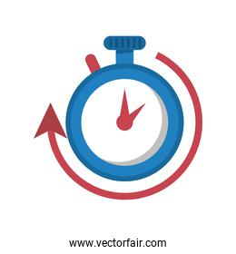 timer chronometer counter isolated style