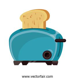 bread toaster appliance electric icon