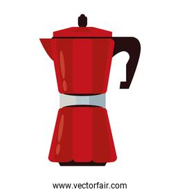 kettle appliance electronic isolated icon