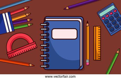back to school equipment supplies