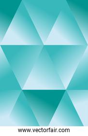 Abstract blue polygonal background design