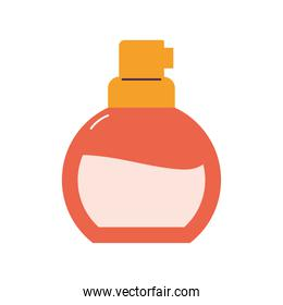 lotion  with a orange color