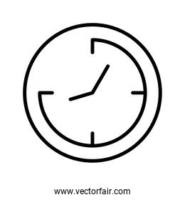 time watch line style icon