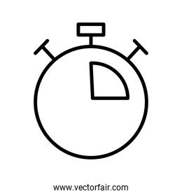 chronometer timer counter line style