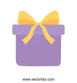 gift box surprise celebration icon in cartoon style