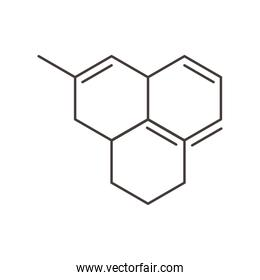 chemistry structure molecule science line style