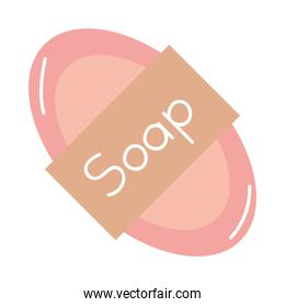 soap bar isolated icon