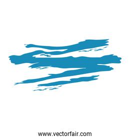 brushes abstract blue color sketch and doodle design