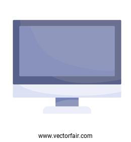 computer monitor device gadget technology white background