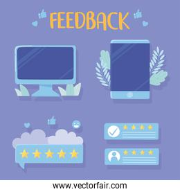 computer smartphone rating and feedback apps