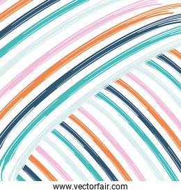 Abstract pattern background with lines in two directions vector design