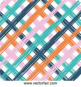 Abstract squared pattern background vector design