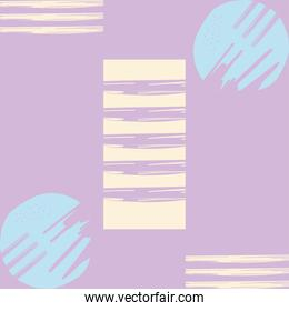 Abstract purple white and blue pattern background vector design