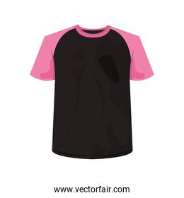 cotton shirt clothes black and pink colors