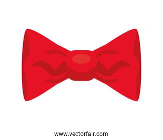 happy merry christmas red bow ribbon