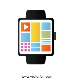 smartwatch electronic technology device icon