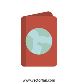 passport with one globe in it