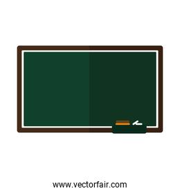 green board on a white background