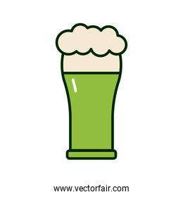 green beer st patrick celebration icon