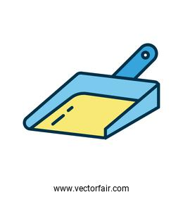 picker tool flat style icon