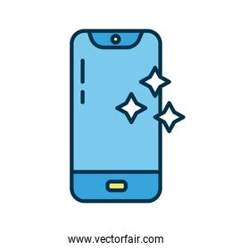smartphone clean flat style icon