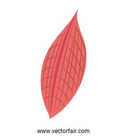 tropical leaf foliage forest abstract style icon