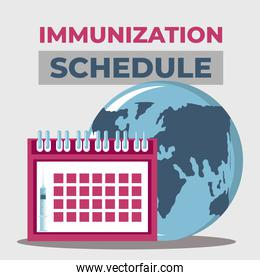 world vaccine, schedule protection against covid 19