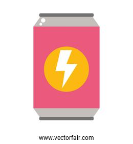 soda can icon, colorful design