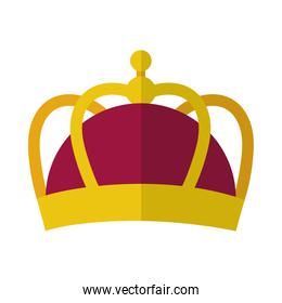king crown icon, colorful design