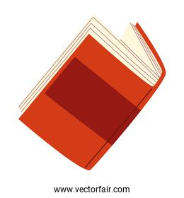 read book learn education icon vector white background