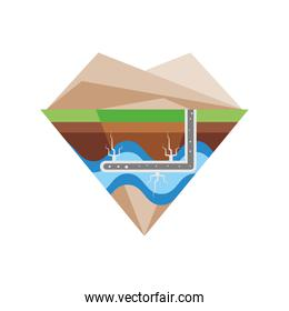 fracking extract the raw hydrocarbon energy from the subsurface level
