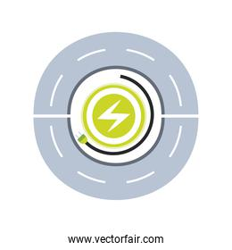 electric car ecology power traffic ecology