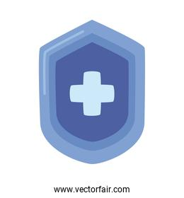 shield guard protection isolated icon