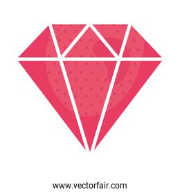 pink diamond stone luxury icon